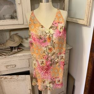 VS Chemise Beautiful Floral Print Sz XS
